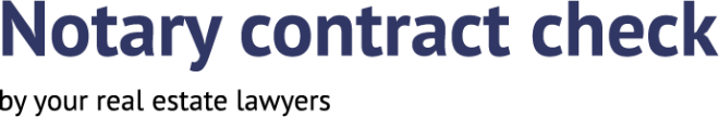 Notarial contract check
